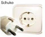 Schuko adapter