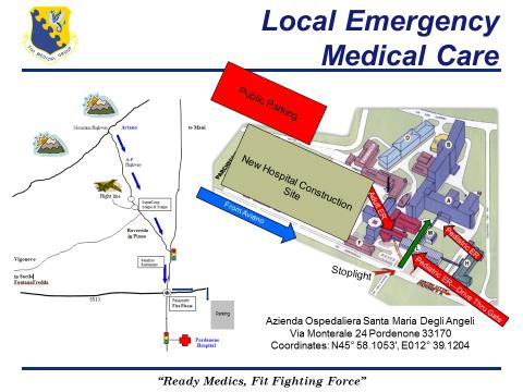 local emergency care map